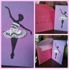 Wish card ballerina.