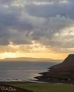 Loch Brittle at sunset, Scotland.