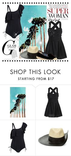 """""""Rosegal Fashion 72"""" by merryyyyy-132 ❤ liked on Polyvore featuring PBteen, Sonia Rykiel and Nine West"""