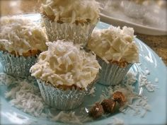Coconut Cupcakes  from angela Roberts