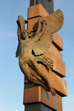 monument to astronauts in Krasnoyarsk by weryvall.deviantart.com on @DeviantArt