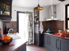 cool Idée relooking cuisine - Relooker une cuisine rustique...