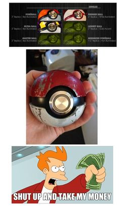 All We Want Are Realistic PokéBalls and pokemon