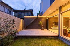 Home Garden Modern Design 69 Ideas Indoor Courtyard, Architectural Lighting Design, Rooftop Design, Surf House, Japanese House, Bars For Home, Deck, Home And Garden, Garden Modern