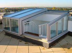 Semi-Retracting Roof Access Rooflight: Featured Installation: EXL