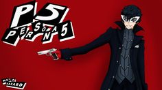 Persona 5 Protagonist Revealed + New Trailer Persona 5 Joker, Persona 4, Ren Amamiya, Hd Widescreen Wallpapers, Shin Megami Tensei, Japanese Games, Audio, New Trailers, Background Pictures