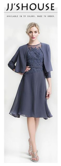 Mother of the Bride #dress by JJsHouse, 100s of Styles, 32 Colors, Made to Order, Fit for You, Order Now.