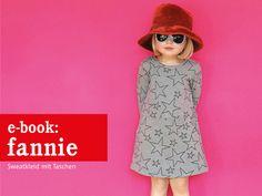 *FANNIE* - vielseitiges Sweatkleid mit Taschen Schnittmuster und Fotonähanleitung   Fannie ist ein Allrounder. Ein Sweatkleid für jede Jahreszeit. Schmal am Oberkörper, mit leicht ausgestelltem...