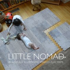 the House of Noa - Theresia Schubert - the House of Noa Tired of circus color play mats ruining your home decor? Check out these beauties ♥ - Playroom Flooring, Playroom Rug, Playroom Ideas, Baby Playroom, Basement Ideas, Nursery Ideas, Studio Pilates, Baby Play Areas, Home Daycare