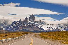 El cerro Chalten, Argentina