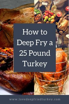 Find out all the details you need to know about deep frying a 25 lb turkey with this large turkey frying kit. Feed an army with an extra-large deep fried turkey kit. #turkey #meat #fried #food #home #thanksgiving #christmas #outdoors #backyard #tailgate #tailgating #heat #foodie #oil