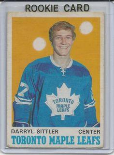 1970-71 OPC Daryl Sittler RC Toronto Maple Leafs # 218 Hockey Baby, Hockey Teams, Ice Hockey, Toronto Maple Leafs, Maple Leafs Hockey, Nhl Season, Nhl Players, Nfl Fans, Hockey Cards