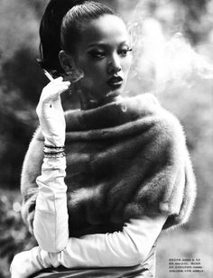 """Heiress"" Numéro China, October 2010Photographer: Mei Yuan GuiModel: Grace Gao"