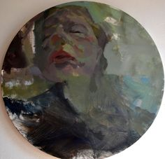 """Rebecca Nehring """"Accident"""" oil on canvas 2013"""