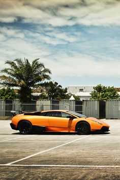 Lamborghini Murcielago SV - the last of the breed that started with the Miura. Everything else just seems bland in comparison to a bright orange Murcielago SV