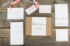 Wedding Stationery Robert & Lianne