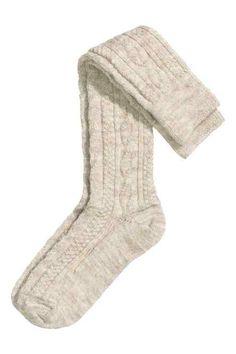 Chaussettes de hauteur genou ✅