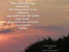 Goethe .. Bild von Nona Simakis
