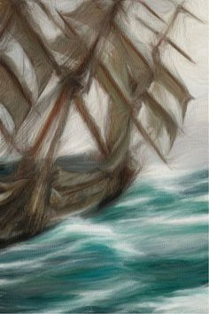 Ship in Storm by Bob Smerecki Alison Johnson, Impressionism, Bob, Ship, Bob Cuts, Ships, Bob Sleigh, Impressionist, Bobs