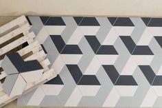 Perini Tiles- New half hexagon tiles