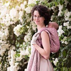 aaee0a0ea0e0 Fidella Écharpe de portage Coeur -éclat rose- 420 cm - taille 5 Portage,