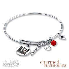 Charmed Memories Bangle Star Wars Darth Vader Sterling Silver