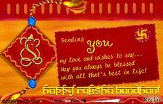 Raksha Bandhan Greeting from my brother