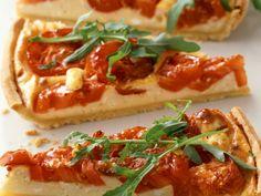 Tarte mit Tomate und Rucola - smarter - Zeit: 40 Min. | eatsmarter.de Tarte geht immer, oder?