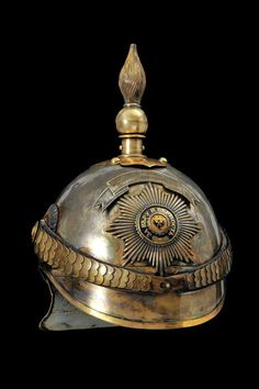 A Tsar personal guard officer's helmet, late 19th century