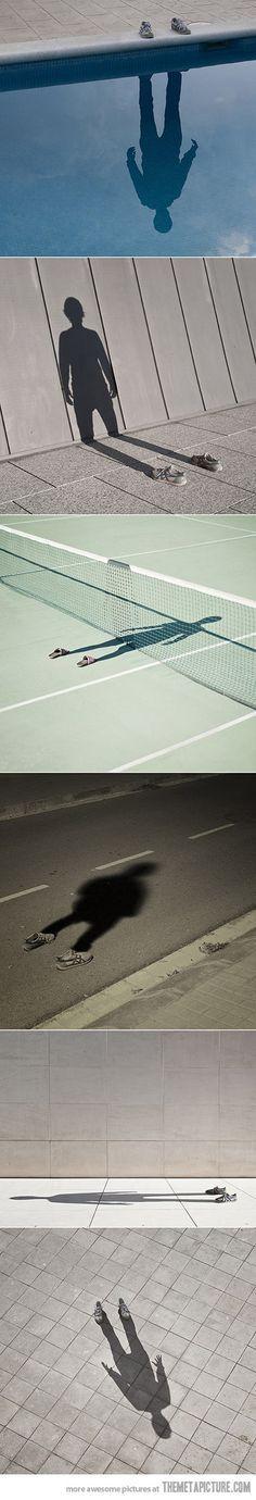 Des photos créatives qui utilisent les ombres. http://mostra.io/