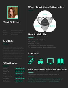 LOVE LOVE LOVE this idea to hack a Canva resume template to create your own user manual! Adam Grant, I Respect You, Teaching Techniques, Having Patience, Resume Tips, New School Year, Science Classroom, Teacher Resources, Teaching Ideas