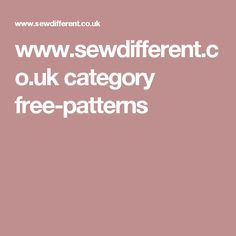 www.sewdifferent.co.uk category free-patterns