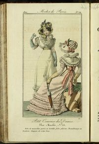 Petit Courrier des Dames : annonces des modes, des nouveautés et des arts del 5 de Junio de 1822