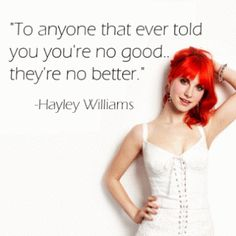She makes being emo aspirational...  why Hayley Williams is the perfect punk role model
