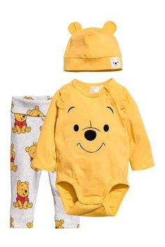 300b3c6005a H&M Jersey Set #babystuffaunt Disney Baby Clothes, Winter Baby Clothes,  Baby