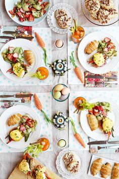 The Candid Appetite's Easter Brunch is a full menu of five recipes that are all perfect for a spring time celebration!