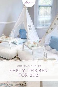 Find the best party theme ideas plus coordinating party favors and party printables for all the best themes for birthday parties, baby showers, bridal showers, weddings, & anniversaries! Fun Party Themes, Cool Themes, Theme Ideas, Bridal Shower Rustic, Bridal Showers, Baby Showers, First Birthday Parties, Birthday Party Themes, Wedding Table Themes