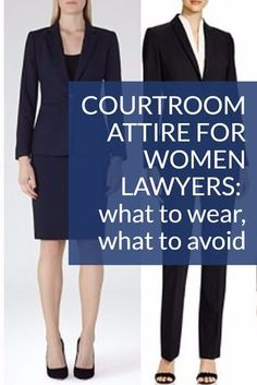 Wondering what to wear for trials, depositions, arbitrations, and other important things? Here's our advice on the best courtroom attire for women lawyers Court Attire, Court Outfit, Law School Fashion, Business Casual Outfits, Business Style, Business Attire, Office Outfits, Corporate Attire, Business Formal