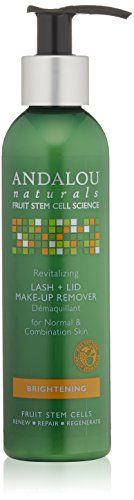 Andalou Naturals Revitalizing Lash Plus Lid Makeup Remover, 6 Ounce -- Check out the image by visiting the link.