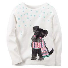 Carter's Toddler Girl Graphic Tee