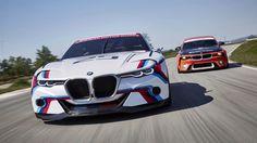 Концепты BMW 2002 и BMW 3.0 CSL Hommage R на гоночном треке Мирамас  В этом месяце BMW опубликовал тизер нового видео, который непременно заставит ваше сердце биться чаще в ожидании выхода полного видео. В кадре мы можем полюбоваться парой шикарных концептов, выпущенных конц�