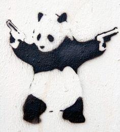 Panda Stencil