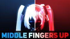 Middle Fingers Up by 1442553668.deviantart.com on @DeviantArt