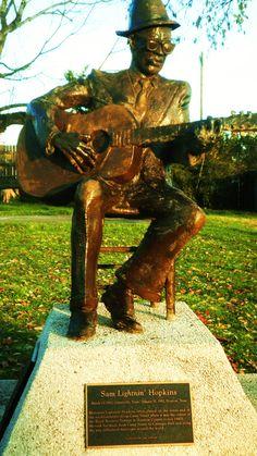 Crockett, Tx - home of Lightnin' Hopkins- great blues singer