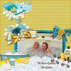 The More Bubbles, The Better  Credits:    Tubby Time by Marniejo's House of Scraps Font Used:   Master of Break   Available At:   PrintMasterPacks  http://www.printmasterpacks.com/store/display_product_page?id=MJHS-CP-1608-111251