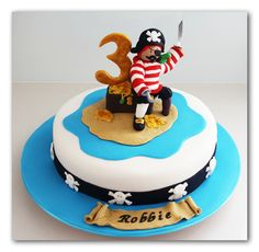 Image detail for -Jazzy Cakes: Pirate Cake
