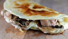 Mushroom Chicken Quesadillas [AUGUST FEATURED RECIPE]