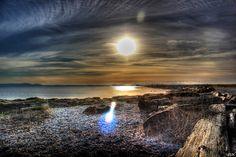 Tsawwassen Bay sunset