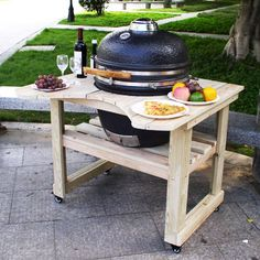 Aura Kamado Ceramic Grill 18 Inch  Just Like Big Green Egg Interesting Outdoor Kitchen Charcoal Grill Inspiration