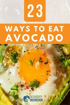 Avocados have numerous health benefits and can easily be added to many recipes. Here are 23 interesting ways to add avocados to your diet: https://authoritynutrition.com/23-ways-to-eat-avocados/